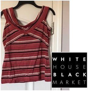 White House black market top size small